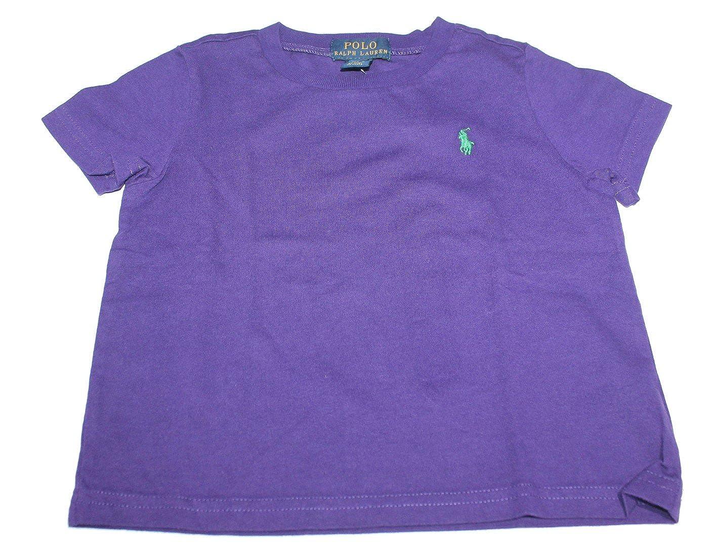 Polo_Ralph Lauren - Camiseta de Manga Corta - para niña Morado ...