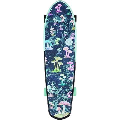 "GLOBE HG Big Blazer Skateboard, Black/Sky/Shrooms, 32\"" : Sports & Outdoors [5Bkhe0803430]"