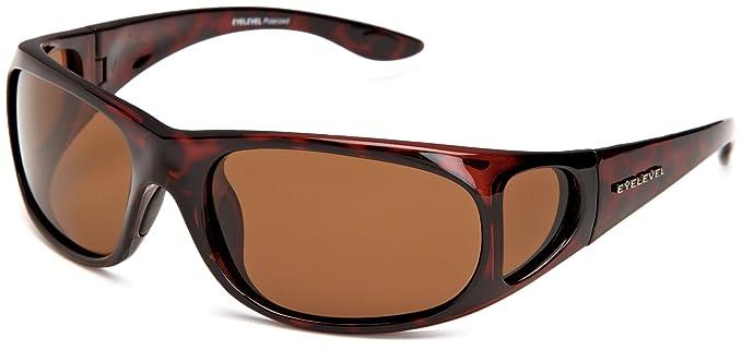 Eyelevel Fisherman 2 - Gafas de sol polarizadas para hombre, color marrón, talla única