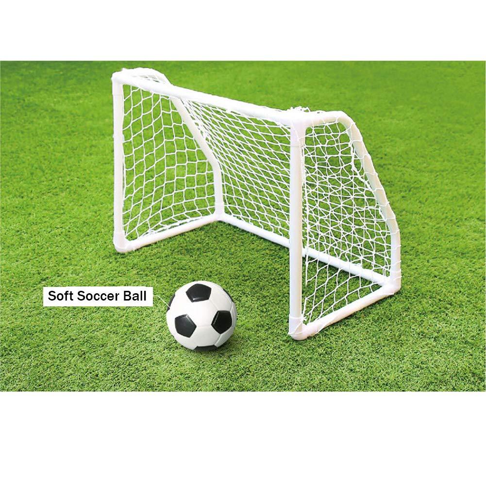 人気大割引 [KEMOEM] ミニサッカーゴールポストネット 19.6インチ X 26インチ 19.6インチ X & ソフトサッカーボール 子供用 サッカー 子供用 アウトドア フットボール 試合 トレーニング器具 B07M9BLFMS, ホクリュウチョウ:c48defa2 --- fenixevent.ee