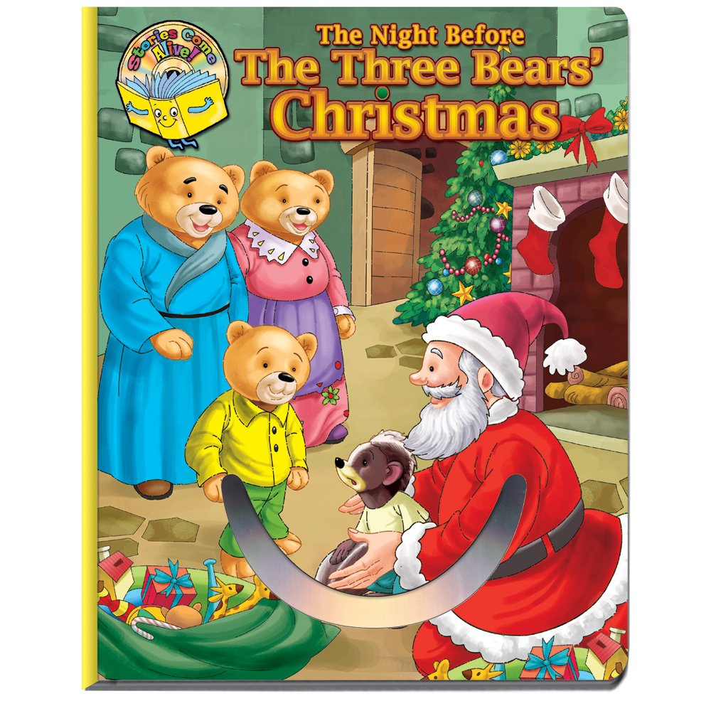 The Night Before the Three Bears' Christmas - Book w/CD PDF