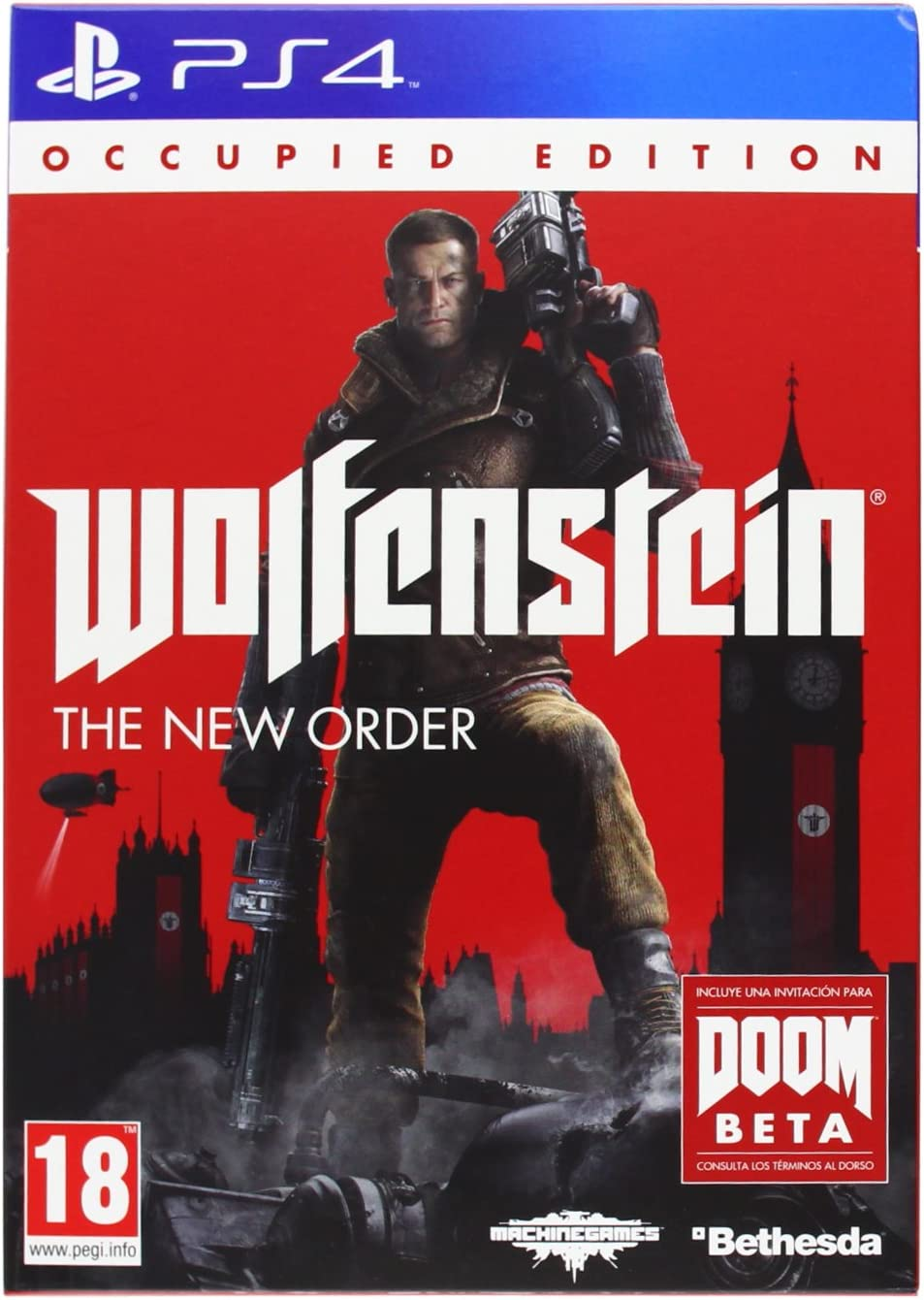 Wolfenstein: The New Order - Occupied Edition: Amazon.es: Videojuegos