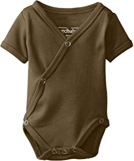 ec1e4d62b Amazon.com: Baby Side Snap Bodysuit Set, 100% Cotton Boy Girl Unisex ...