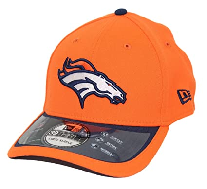 New Era Denver Broncos 39THIRTY NFL 2015 On-Field Performance Flex Hat (S  826a6e18b