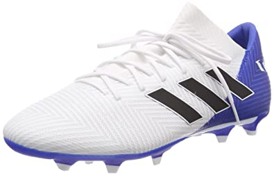f0b5de85dcf5e Chuteira Campo Adidas Nemeziz Messi 18.3 FG - Branco - 43: Amazon ...