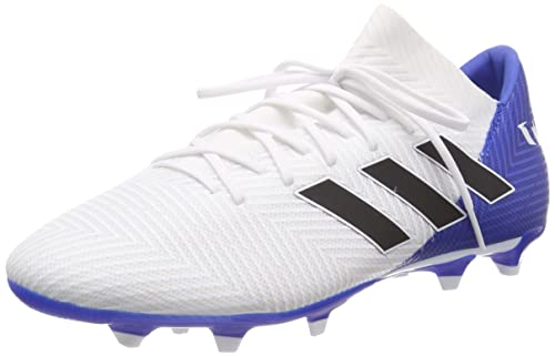 18a4c36a806b Adidas Men s Nemeziz Messi 18.3 Fg Ftwwht Cblack Fooblu Football Boots-10 UK