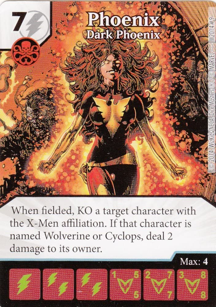 PRESALE The Dark Phoenix Saga Booster Display Dice Building Marvel Dice Masters