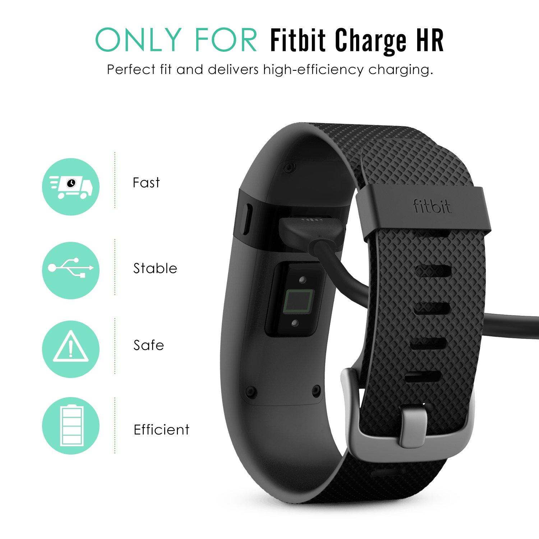 MoKo Fitbit Charge HR Cargador: Amazon.es: Electrónica