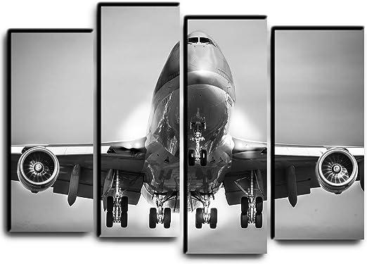 Art print POSTER Canvas Boeing 747 in Flight