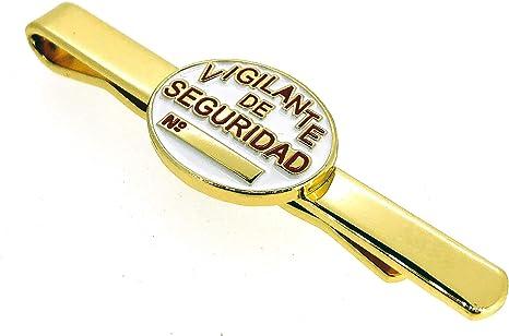Pasador de Corbata de Placa de Vigilante de Seguridad: Amazon.es: Ropa y accesorios