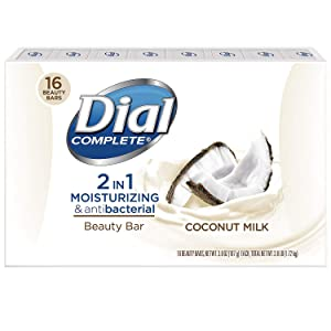 Dial 2 in 1 Coconut Beauty Bar, Bar Soap (16 ct.)