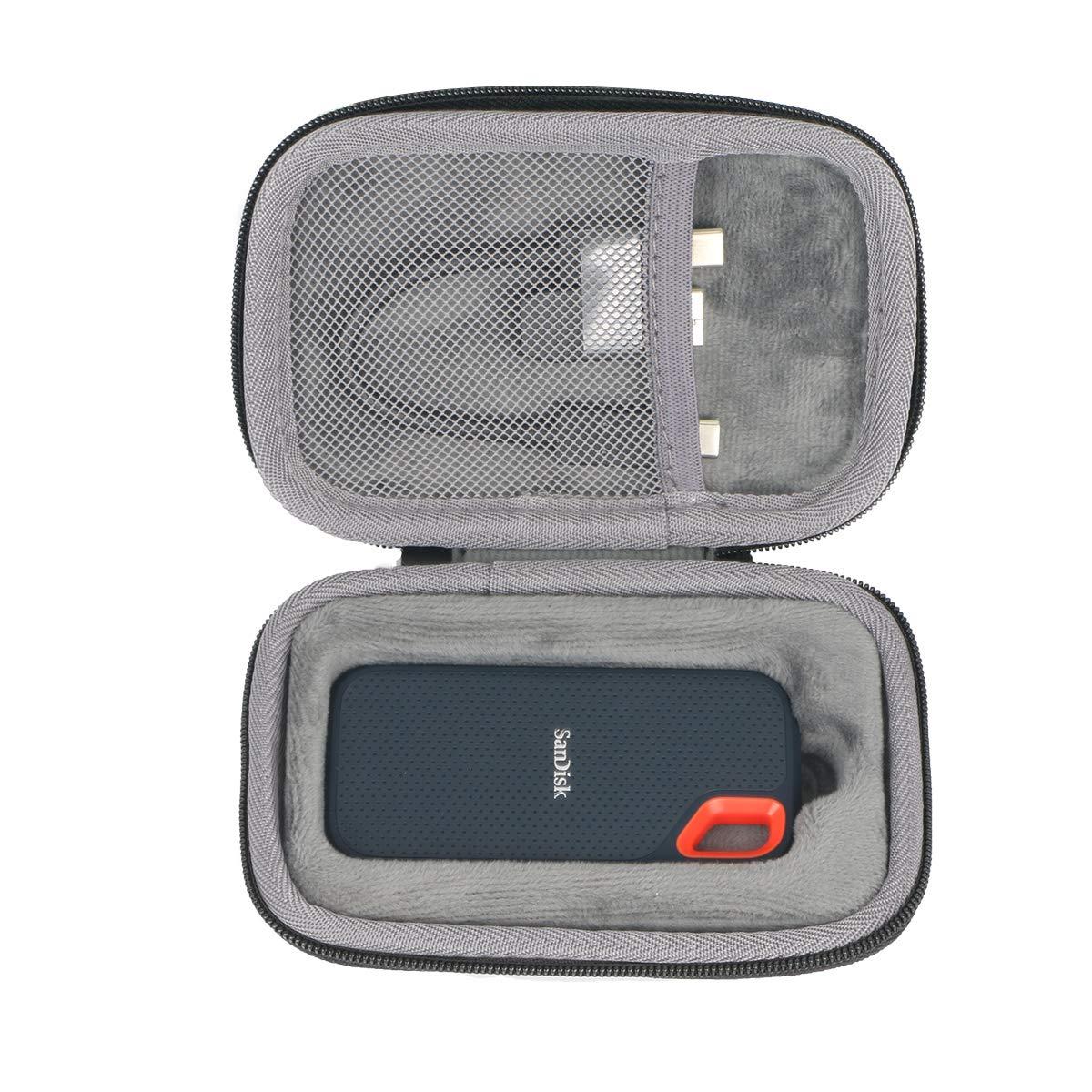 co2CREA Duro Viajar Caso Cubrir para SanDisk Extreme Portable SSD ...