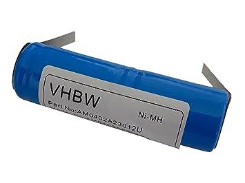 vhbw NiMH batería 1200mAh (2.4V) para cepillo de dientes ...