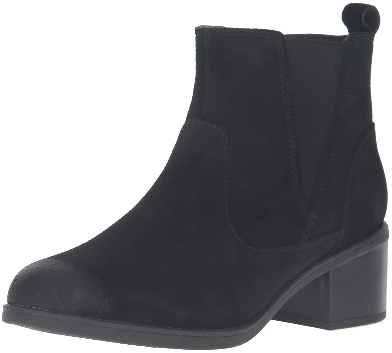CLARKS Women's Nevella Bell Boot B0198WJS1C 6.5 B(M) US|Black Suede