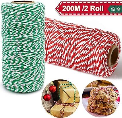 100m Länge Farbe rot 2mm starke Polyesterschnur