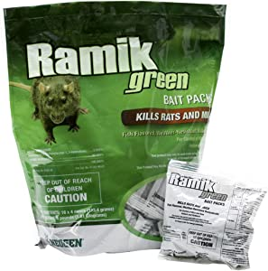 Neogen 698782 Green Ramik Nuggets Place Pack Pouch, 4-Pound