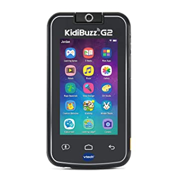 VTech KidiBuzz G2 Kids Electronics Smart Device with KidiConnect, Black