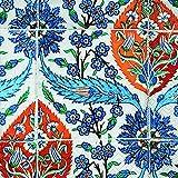 Servilletas (2 Juegos / 40 uds) 3 capas 33x33 cm Muestra Verano Azulejos Asiaticos