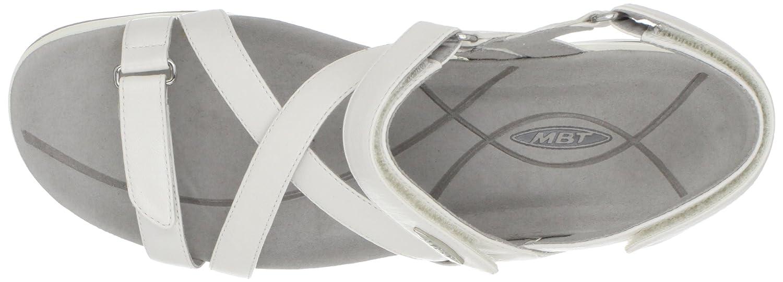 MBT Damen Weiß Kiburi W Slingback Sandalen Weiß Damen bd54e0