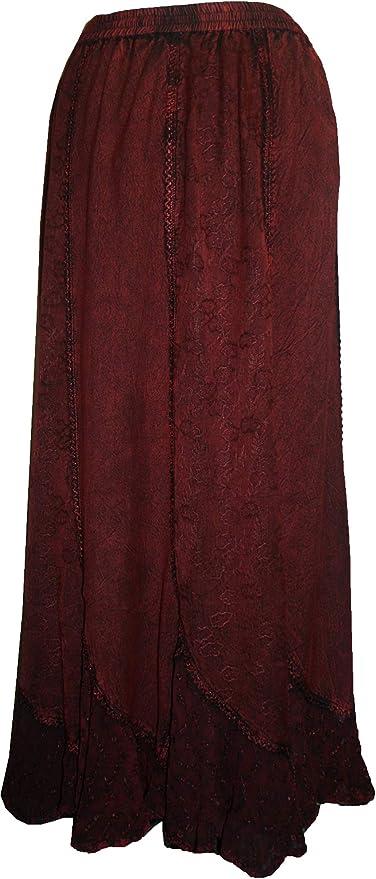 Amazon.com: Agan Traders 711 SK Maxi - Falda larga gótica ...
