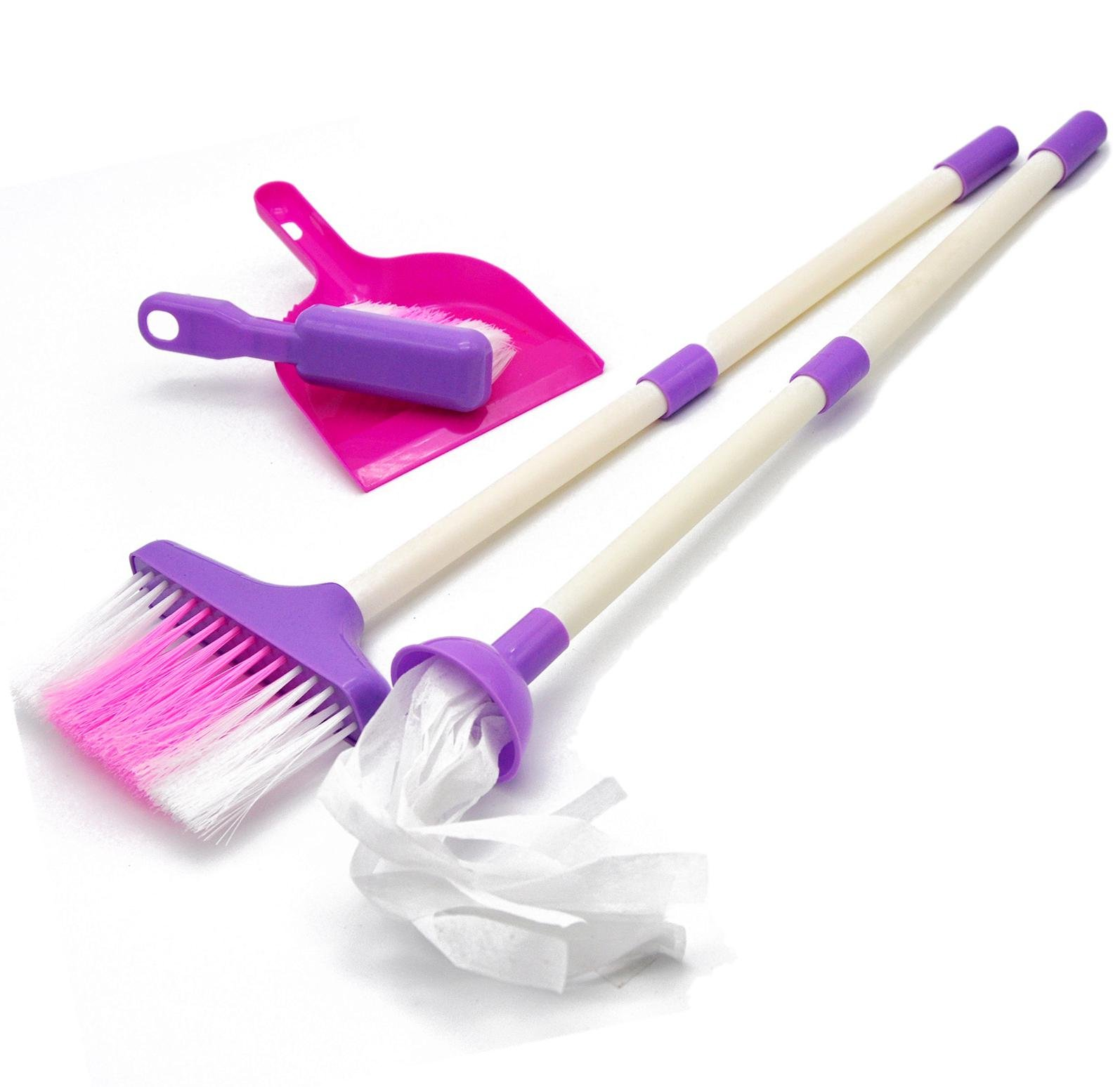 Little Treasures Mommy's Little Helper Toy Mini Sized Cleaning Play Set, Light-Weight by Little Treasures