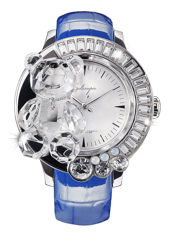 [ガルティスコピオ] Galtiscopio 腕時計 DABSS001BULS 熊8 青 スワロフスキー クリスタル キラキラ レディース 日本正規総代理店 [正規輸入品] [時計] B007W94X64