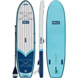"ISLE 11' Scout - Inflatable Stand Up Paddle Board - 6"" Thick iSUP and Bundle Accessory Pack - Durable and Lightweight…"