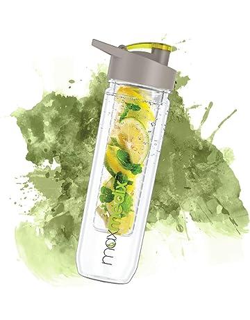MaxMedix Weight World Botella Infusor - Disfruta De Tus Bebidas Favoritas con Agua - Botella Reutilizable