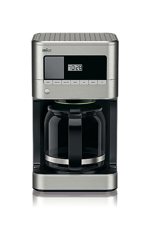 Amazon.com: Braun KF7070 Brewsense - Cafetera (12 tazas ...