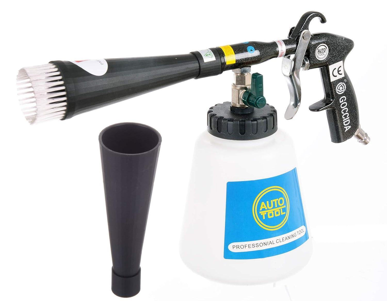 Pistola de limpieza Black Pearl –  Limpiador de aire de presió n metal Boquilla 2 x Tube Pincel Firma Kastor Waclaw Wiecha