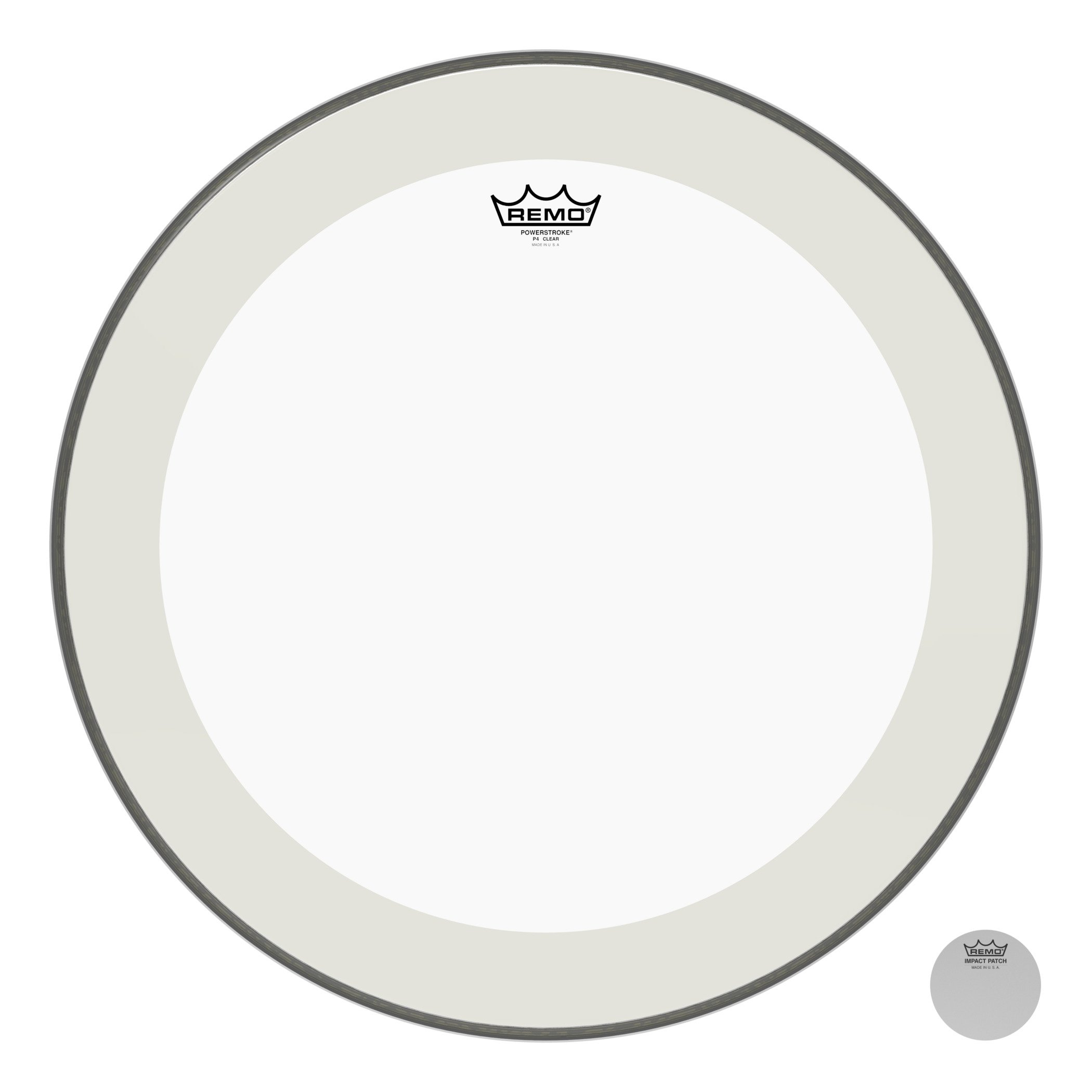 Remo P41322-C2 22-inch Bass Drum Heads