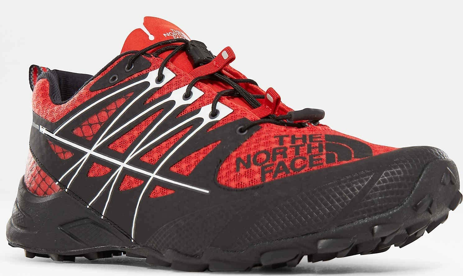 THE NORTH FACE M Ultra MT II -Fall 2018- Fiery Red/TNF Black ...
