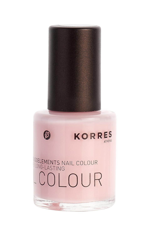 KORRES Nail Colour, Peony Pink 11 ml: Amazon.co.uk: Luxury Beauty