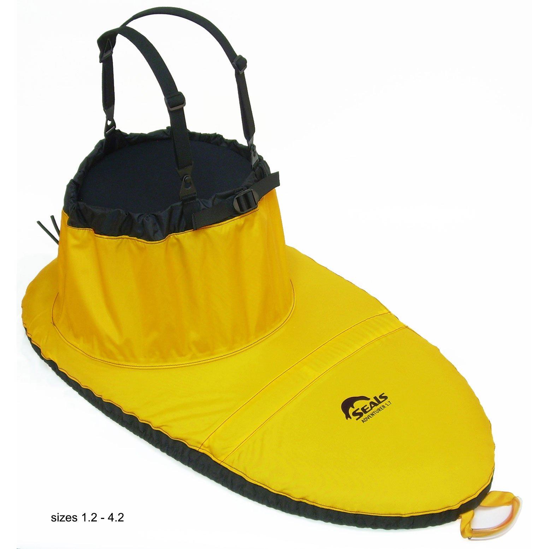SEALS Adventurer Sprayskirt, 1. Gold Yellow One Size