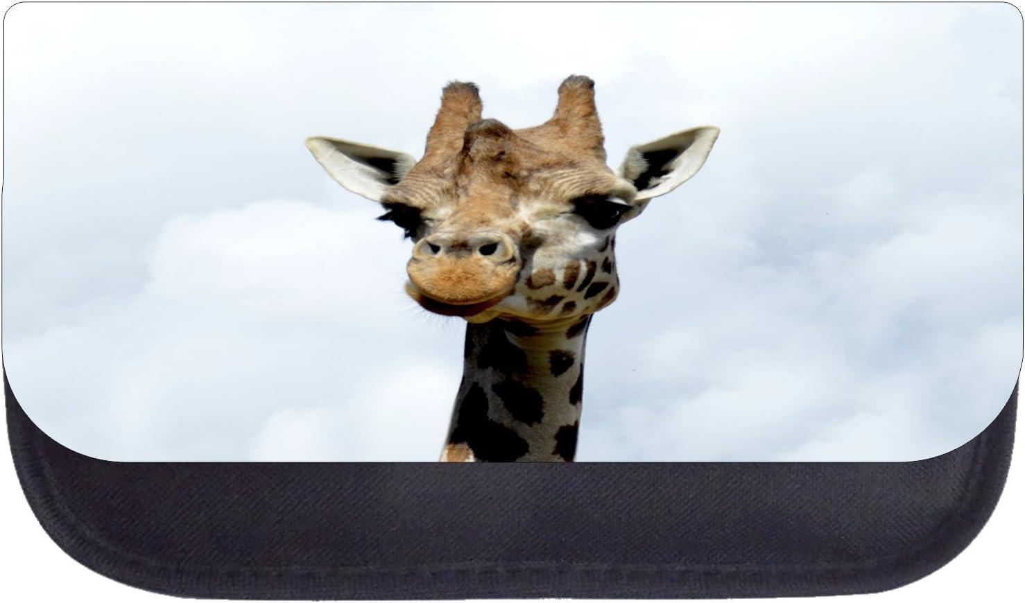 Giraffe in the Sky Black School Backpack /& Pencil Bag Set