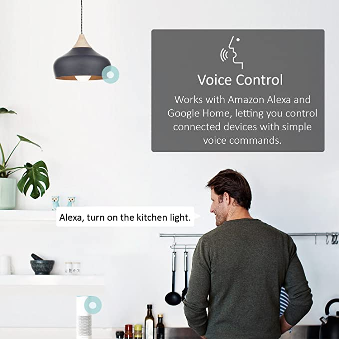 TP-Link Smart WiFi Light Bulb, E27/B22, 11W, Works with Amazon Alexa (Echo  and Echo Dot), Google Home and IFTTT, Colour-Changeable, Dimmable, No Hub