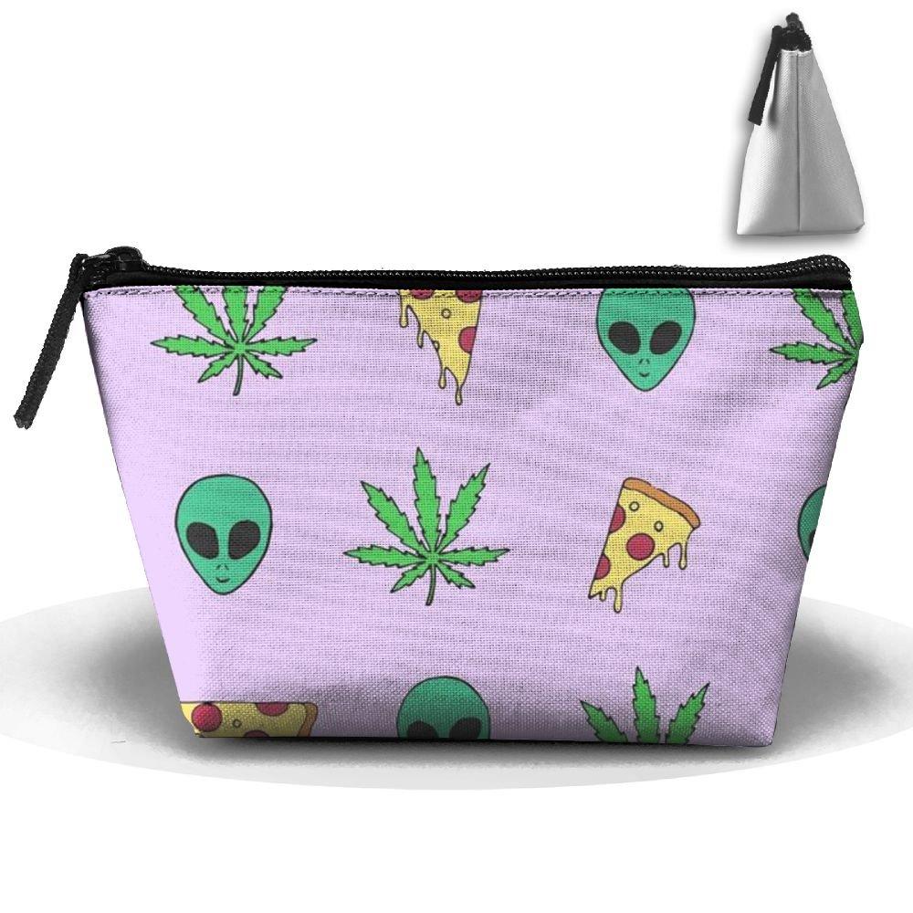 53e481989efd CHC40 Alien And Pizza Travel Kit Organizer Bathroom Storage Cosmetic ...