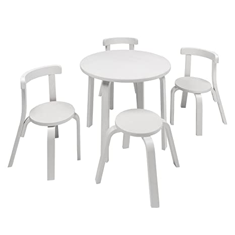 Incroyable Kids Table And Chair Set   Svan Play With Me Toddler Table Set With 3 Chairs