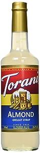 Torani Almond Orgeat Syrup, 25.4 Ounce