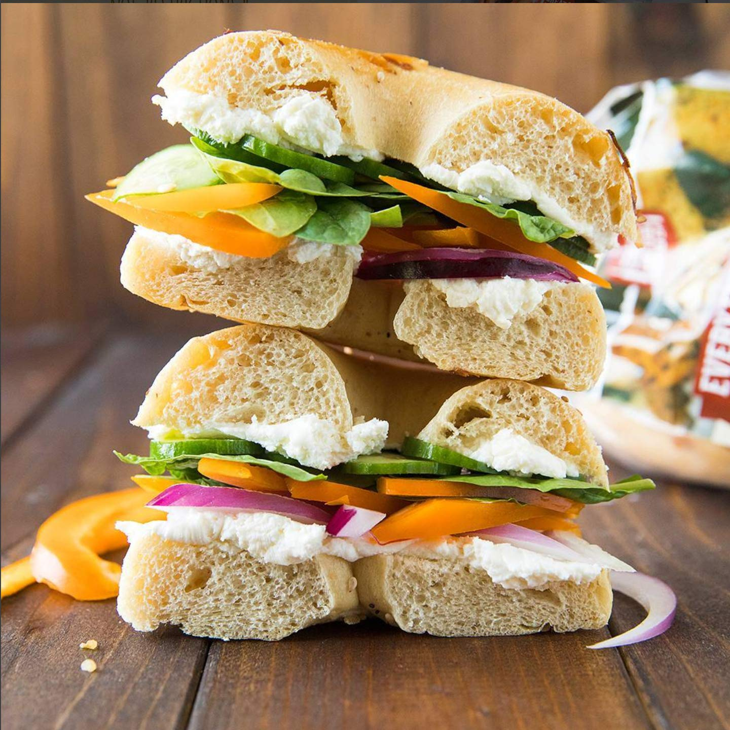 Great Low Carb Everything Bagels 2 Bags by Great Low Carb Bread Company (Image #4)