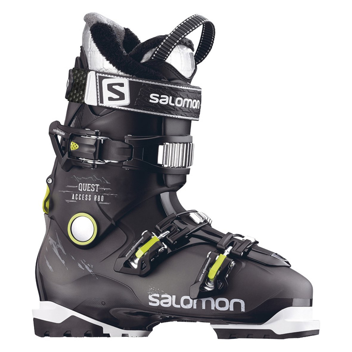 Access ski Anthracite de Salomon de homme R80Chaussures Quest KJ3uTl1cF