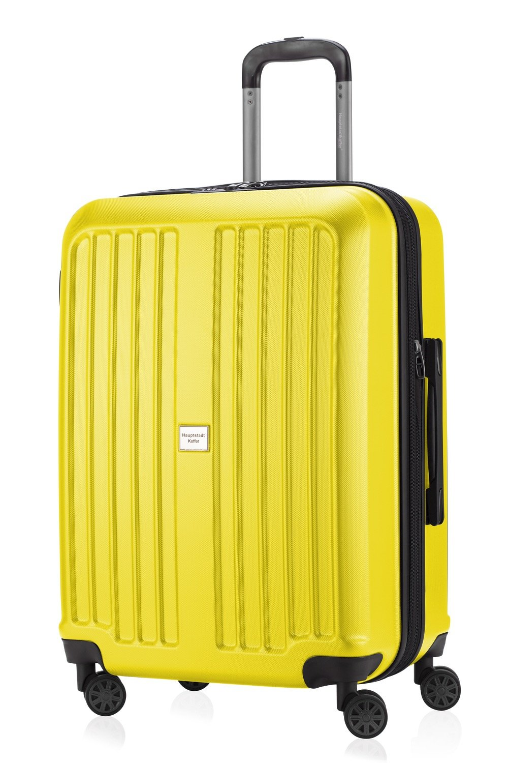 Amazon.com: HAUPTSTADTKOFFER - X-Berg - Luggage Suitcase Hardside Spinner Trolley Expandable 24¡° TSA Yellow: Amazon Global Store UK