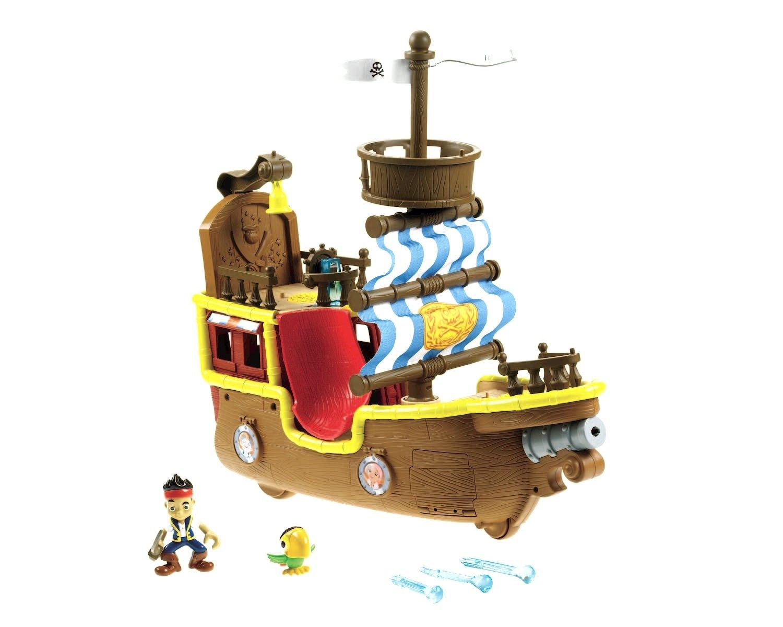 Jake y Los Pirata de Nunca Jamás Mattel X9090 Fisher-Price Bucky, barco pirata musical: Amazon.es: Juguetes y juegos