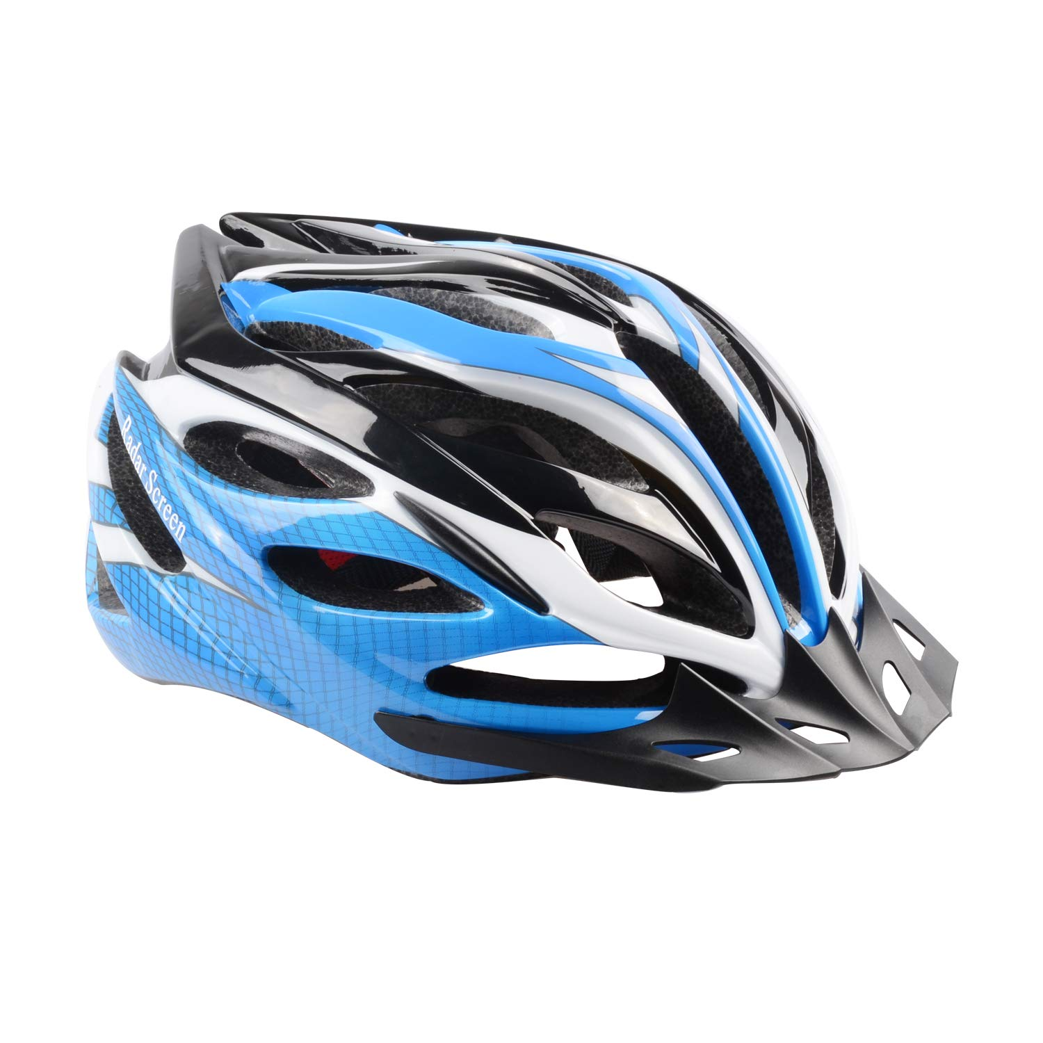 Mountain Bike Helmet with CPSC Safety Certified Ultra Lightweight Cycling Helmet with Adjustable Thrasher for Adult Radar Screen Bicycle Helmet