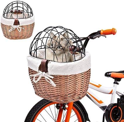 Bike Folding Front Storage Bag Bicycle Handlebar Basket Carrier Cloth Basket
