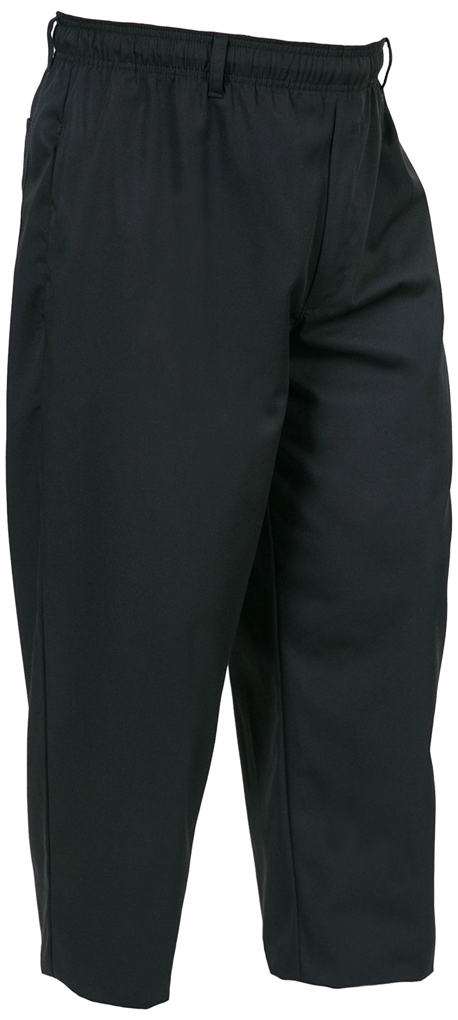 Mercer Culinary M60050BK4X Millennia Men's Cook Pants, 4X-Large, Black by Mercer Culinary