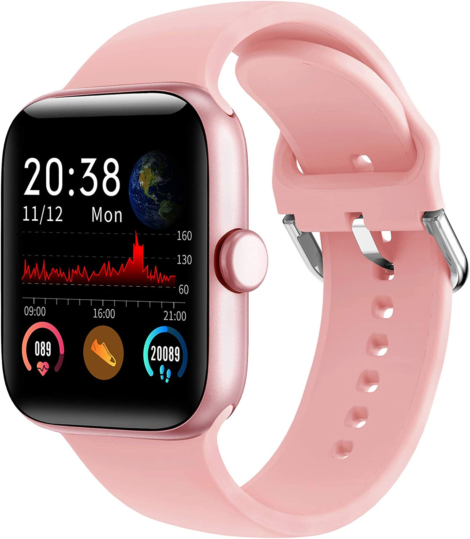 Lifebee Smartwatch Fitness Armband Touchscreen Ip68 Wasserdicht Fitness Tracker Smart Watch Fitness Uhr Sportuhr Blutdruckmessung Schrittzähler Schlafmonitor Damen Herren Pulsuhren Für Android Ios Sport Freizeit
