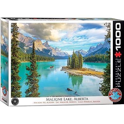 EuroGraphics Maligne Lake Alberta 1000-Piece Puzzle (6000-5430): Toys & Games