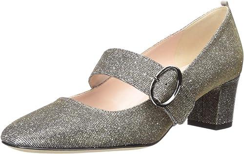 Tartt Round Toe Mary Jane Block Heel