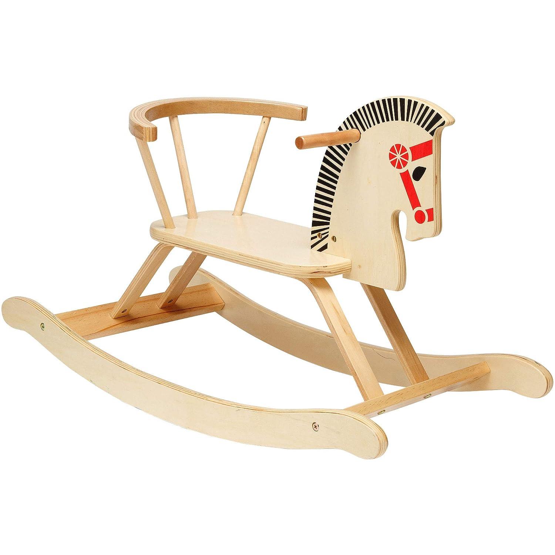 Globo Toys Globo 37021 80 x 48 x 38 cm Legnoland Rocking Horse Wooden Toy